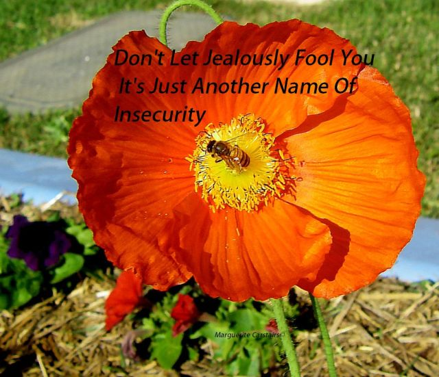 Don't Let Jealously Fool You. It's Just Another Name Of Insecurity